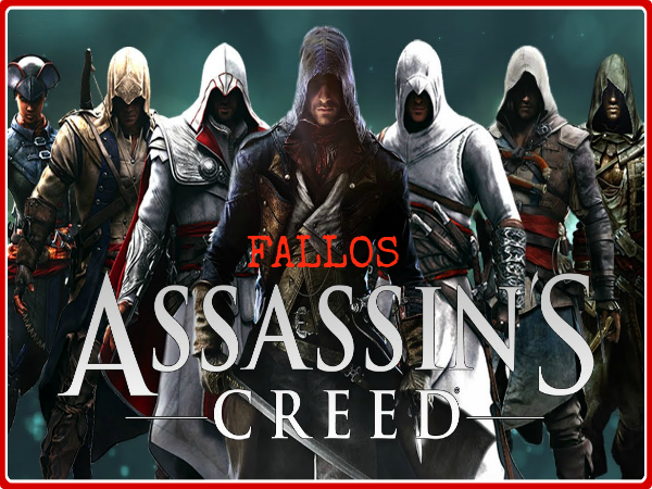 fallos graciosos assassins creed