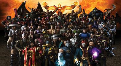 Videojuegos: Mortal kombat Armageddon para Wii