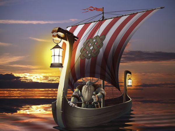 barco pirata, barbarismo