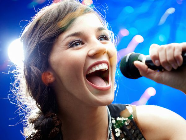 karaoke chica