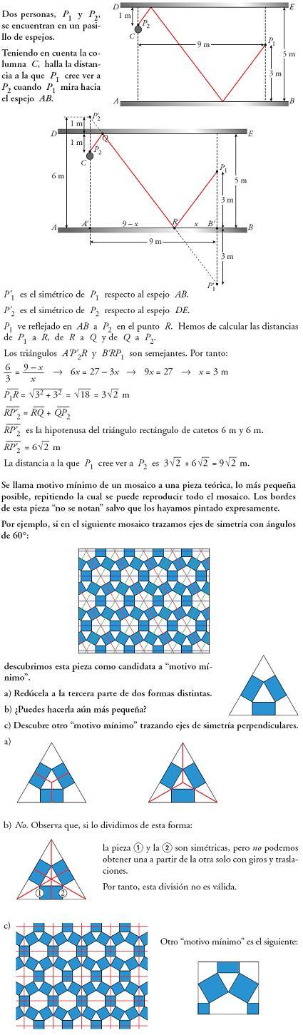 Matemáticas. Profundiza transformaciones geométricas