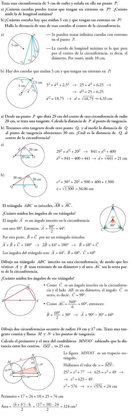 Problemas resueltos figuras planast y lugares geométricos matemáticas